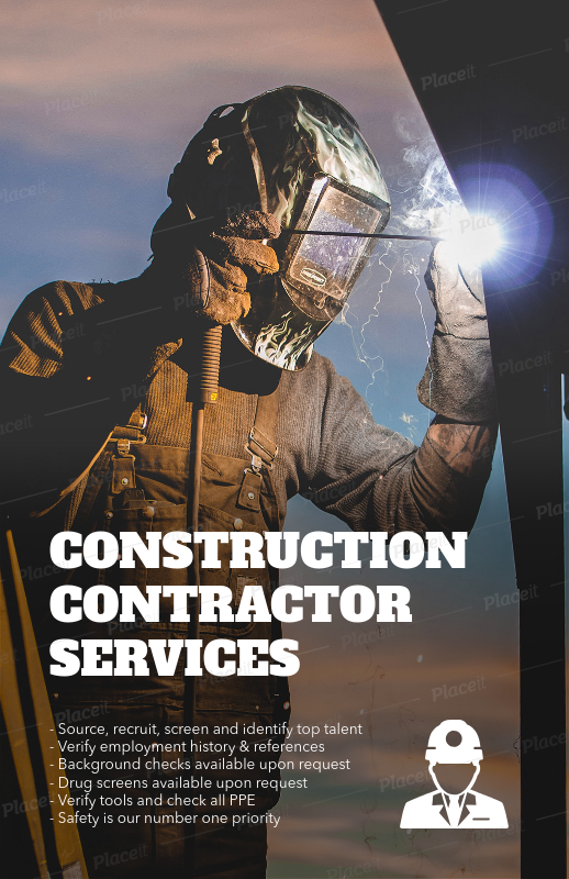 placeit flyer template for construction flyers