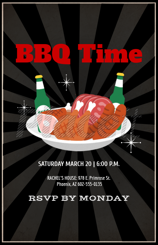 placeit bbq online flyer maker
