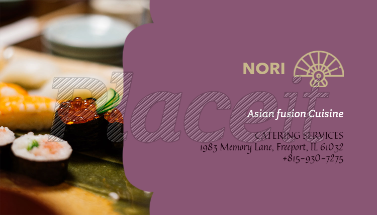 Placeit asian restaurant business card maker asian restaurant business card maker 107b foreground image colourmoves