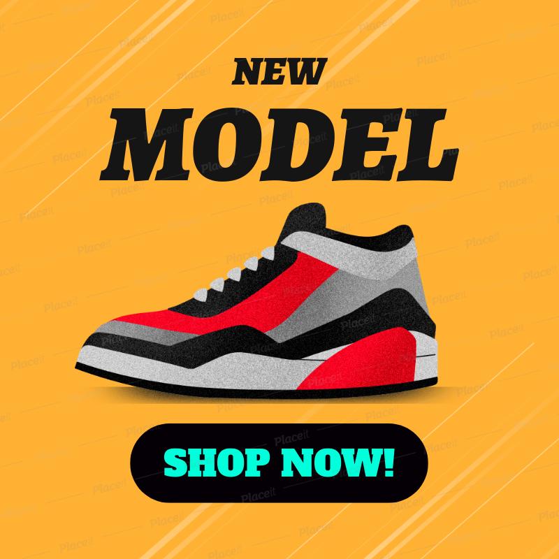 Online Banner Maker for a Shoe Brand