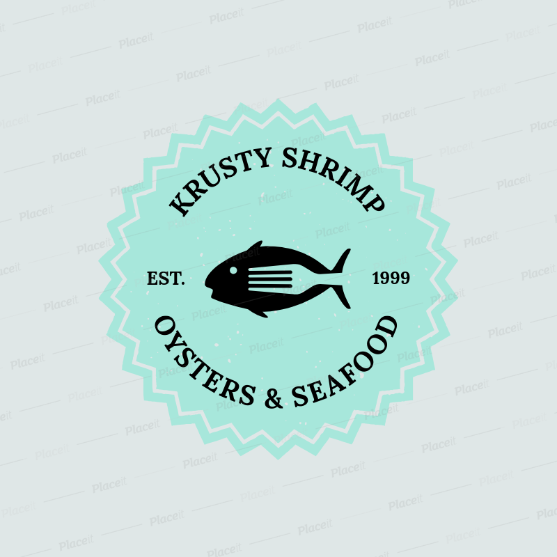 Seafood Restaurant Logo Maker A1225