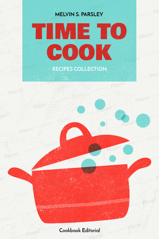 placeit easy cookbook cover maker