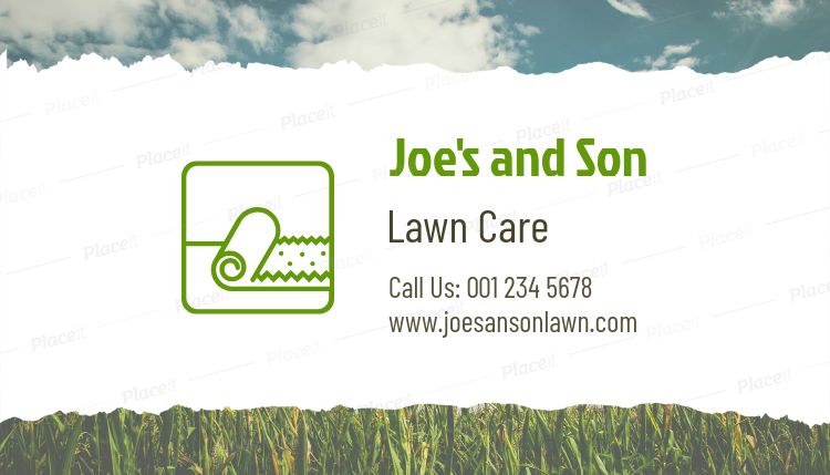 Placeit lawn care professional business card template lawn care professional business card template 650dforeground image colourmoves
