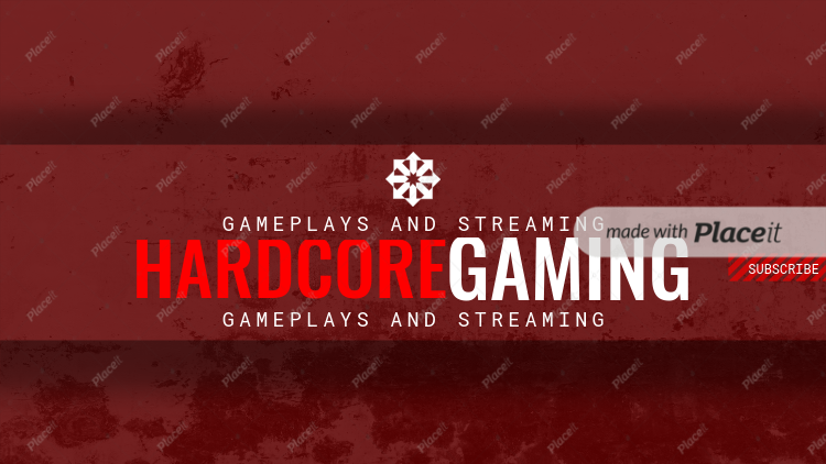 Game Streaming Youtube Channel Banner Template 459Foreground Image