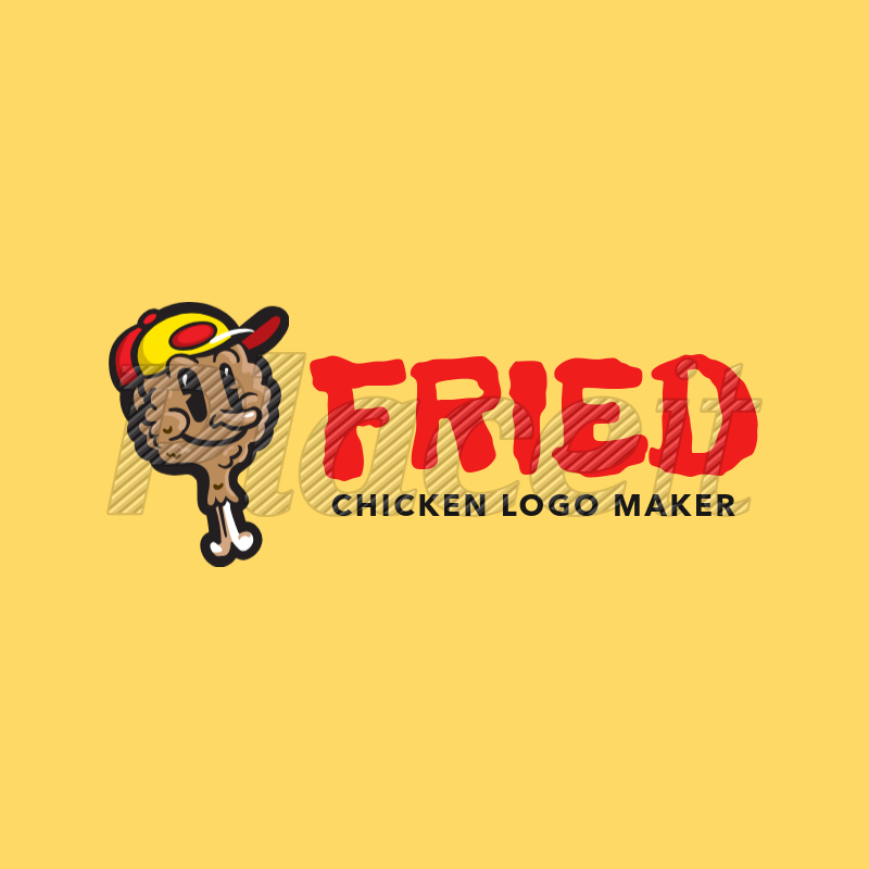 placeit restaurant logo maker for fried chicken logos