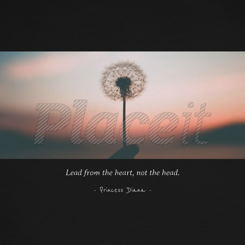 Placeit Instagram Quote Post Maker With Dandelion Image Gorgeous Instagram Quote Maker