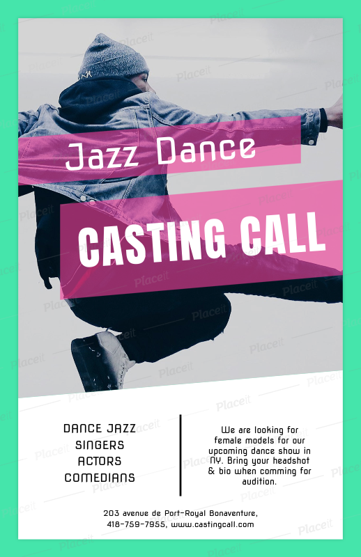 electro dj free flyer template casting flyer for dance auditions