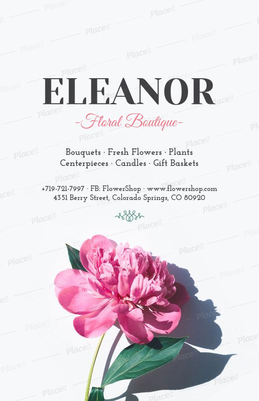 Placeit online flyer maker for flower shops online flyer maker for flower shops 431foreground image mightylinksfo