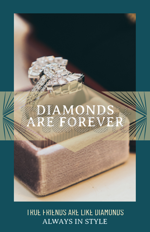 Placeit Flyer Maker Template For A Jeweler With A Diamond Picture