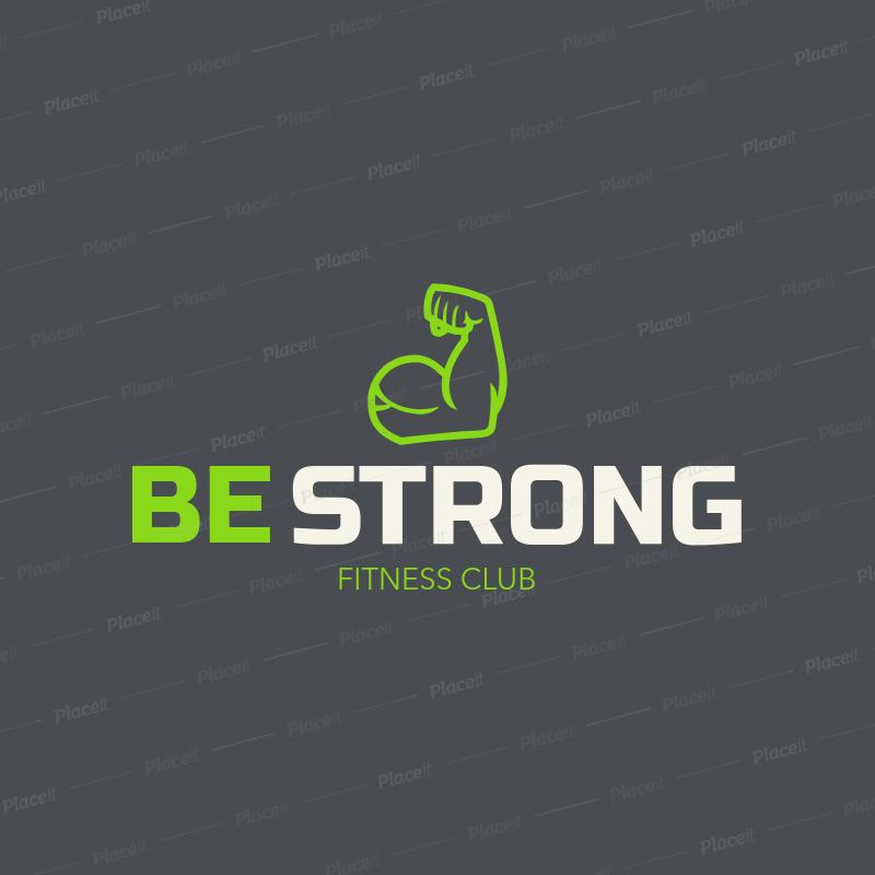 gym logo maker a1080foreground image