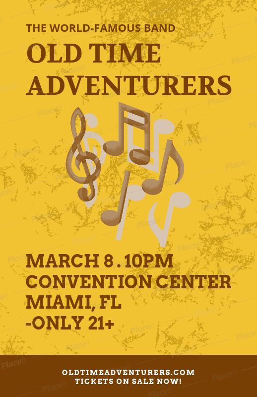 placeit flyer maker for gospel concerts