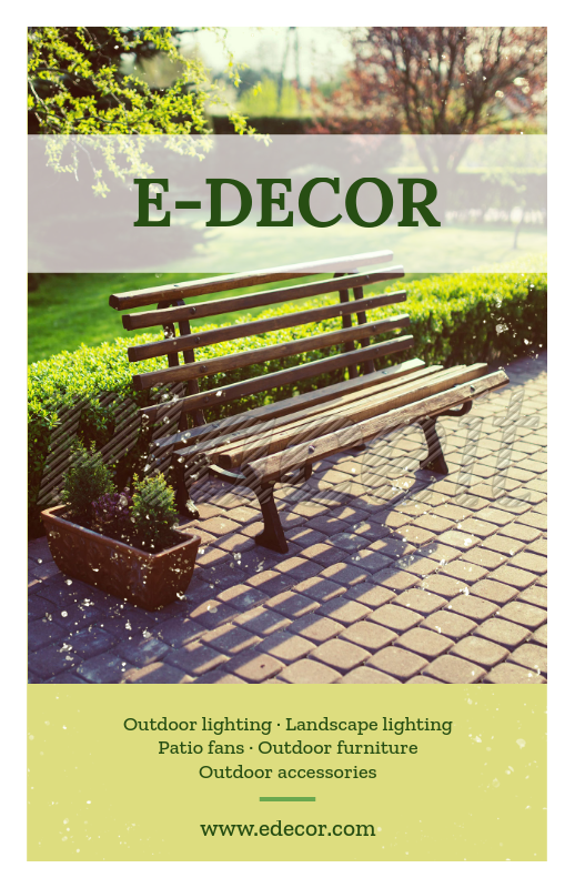 Placeit - Landscaping Decoration Flyer Template