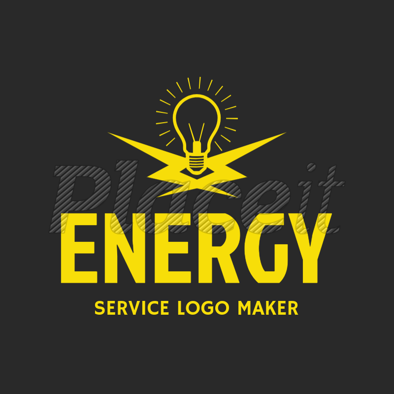 Placeit Electrician Services Logo Maker With Electrical Icons