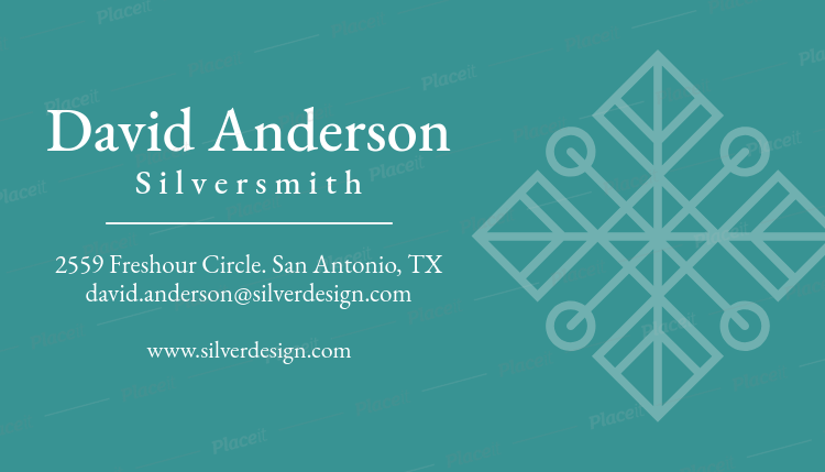 Placeit online business card maker to design a jewelry business card online business card maker to design a jewelry business card 563dforeground image reheart Gallery