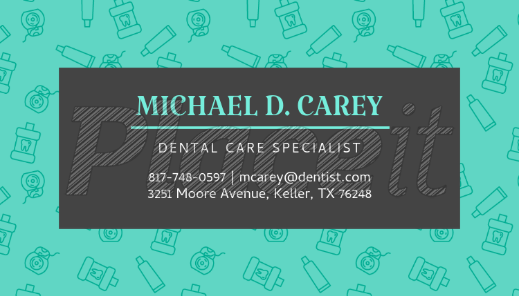 Placeit dentistry specialist business card maker dentistry specialist business card maker 549cforeground image colourmoves