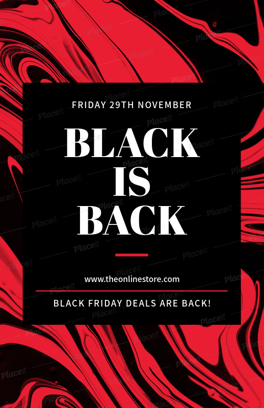 Placeit Black Friday Flyer Generator For Limited Time Special Deals