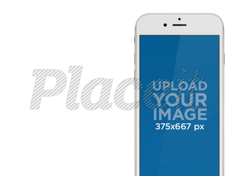 placeit white iphone mockup template with different background options