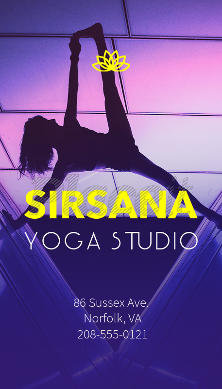 Placeit business card maker for yoga trainer with yoga symbols business card maker for yoga trainer with yoga symbols 154aforeground image reheart Gallery