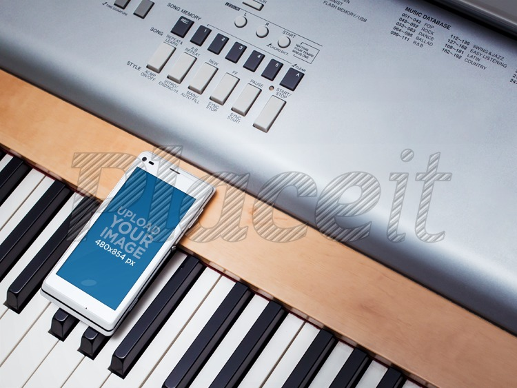 placeit mockup template of white sony xperia on piano keyboard rh placeit net Sony Operating Manuals ICD-UX523 Sony Operating Manuals ICD-UX523