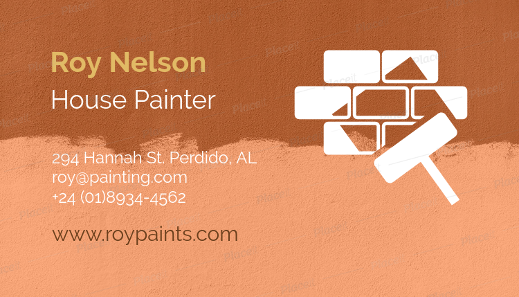 Placeit business card maker for house painters business card maker for house painters 116dforeground image colourmoves