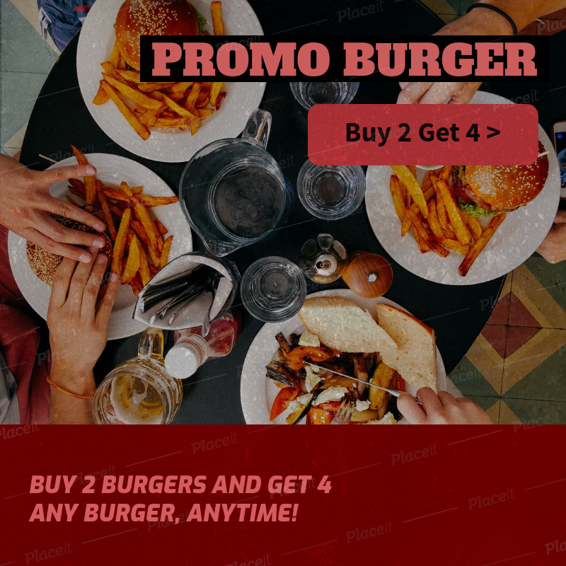 Banner Maker For Restaurant Promotions 372e