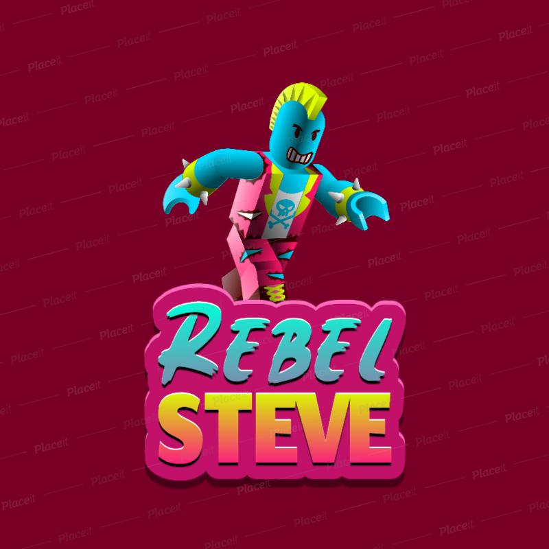 เล น Overwatch ฟร ใน Roblox Youtube Placeit Gaming Logo Generator With A Roblox Inspired Rebel Character