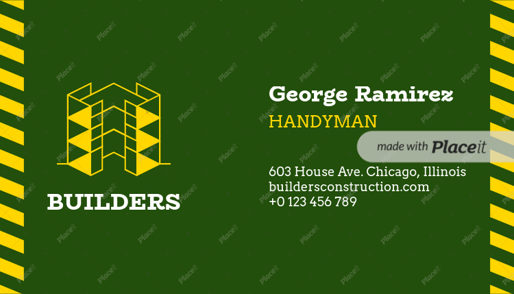 Placeit handyman business card maker handyman business card maker 99b foreground image colourmoves
