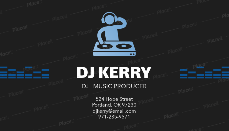 Placeit music producer business card maker with dj clipart music producer business card maker with dj clipart 130aforeground image colourmoves