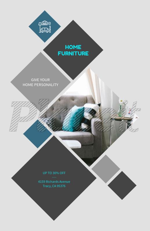 placeit home furniture online flyer maker