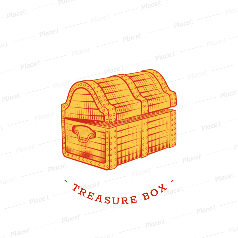 placeit treasure chest popsocket design template