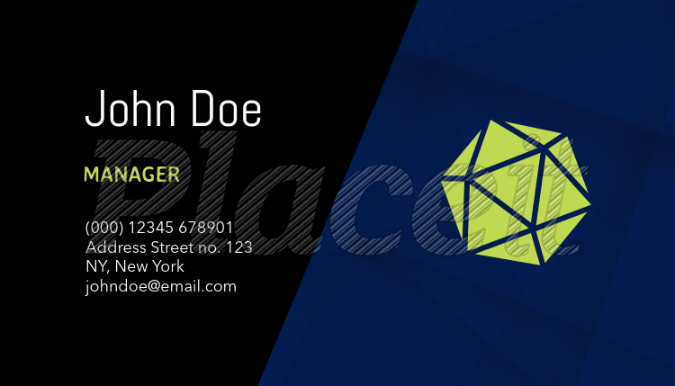 Placeit business card maker to design corporate business cards corporate business cards template a120foreground image colourmoves