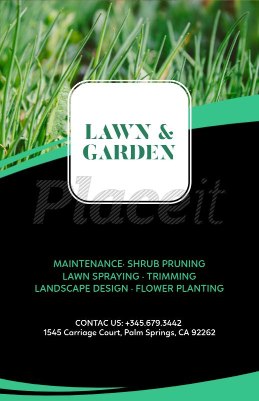 placeit landscape design online flyer maker