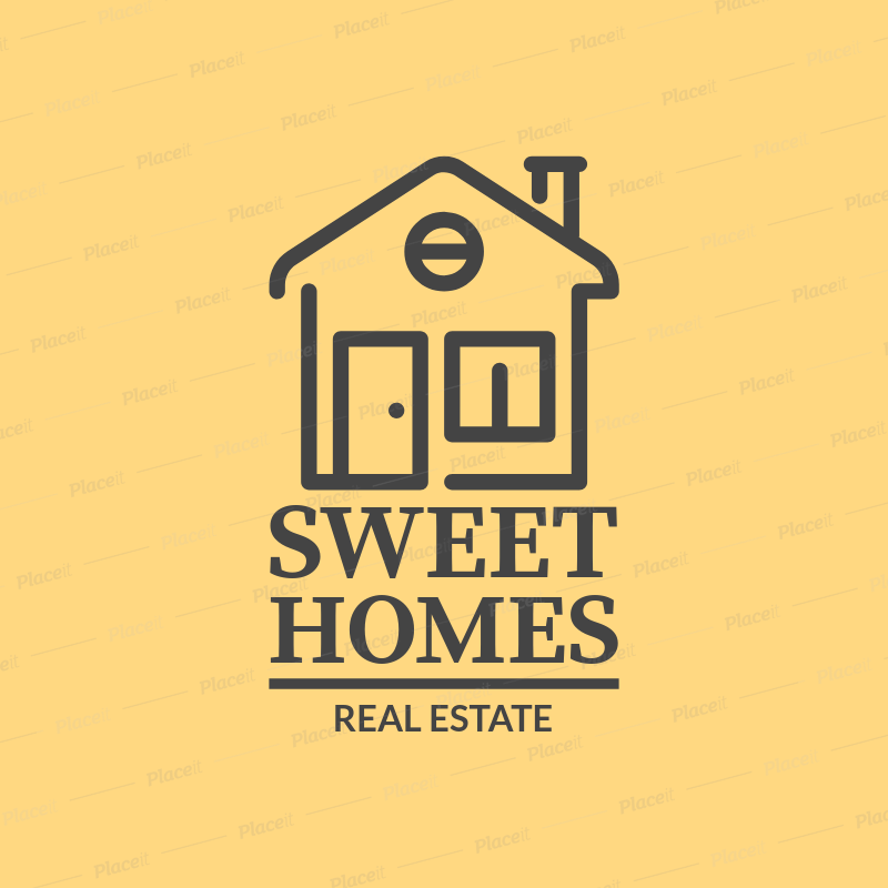 Placeit sweet logo template for real estate business sweet logo template for real estate business 1337bforeground image cheaphphosting Gallery