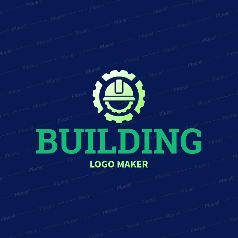 Placeit Civil Engineering Images Logo Maker,Butter Icing Birthday Cake Designs For Kids