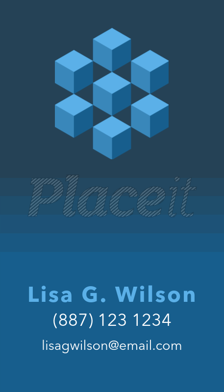 Placeit financial business card with icons financial business card with icons 509bforeground image colourmoves