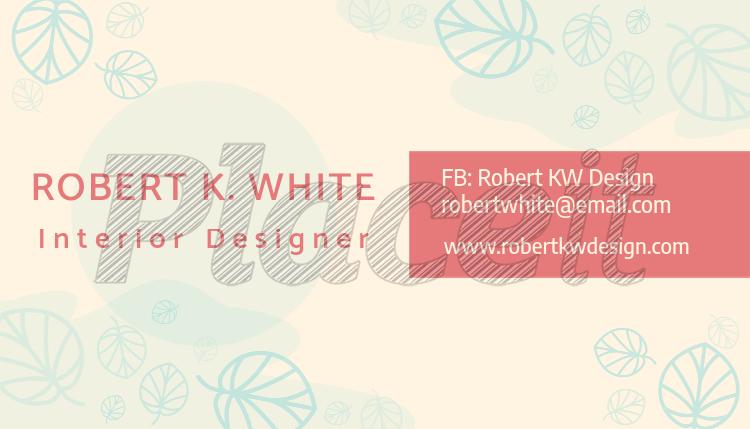 interior designer business card maker 648aforeground image - Interior Design Business Cards