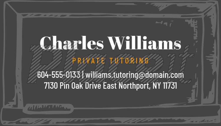 Placeit private tutor business card creator private tutor business card creator 575bforeground image colourmoves