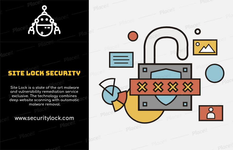 Flyer Design Template For Tech Security Company 514aForeground Image