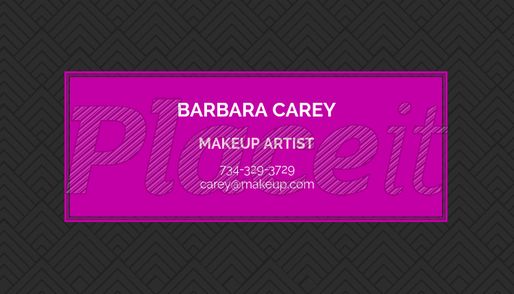 Placeit makeup artist business card template makeup artist business card template 112a foreground image flashek Image collections