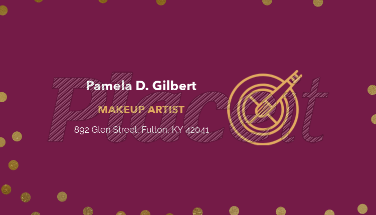 Placeit customizable business card template for makeup artists customizable business card template for makeup artists 112cforeground image friedricerecipe Choice Image