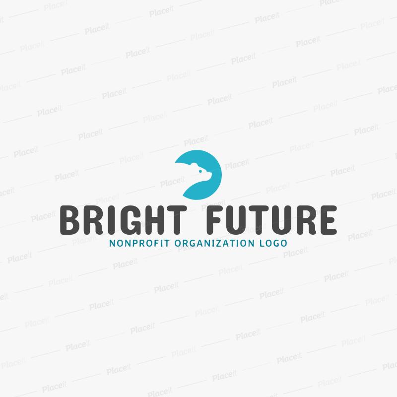 placeit non profit organization online logo creator