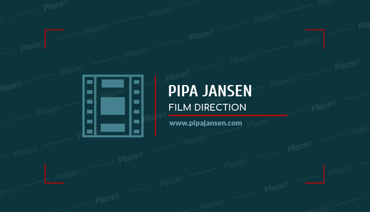 Placeit business card generator for movie directors business card generator for movie directors a217eforeground image reheart Image collections