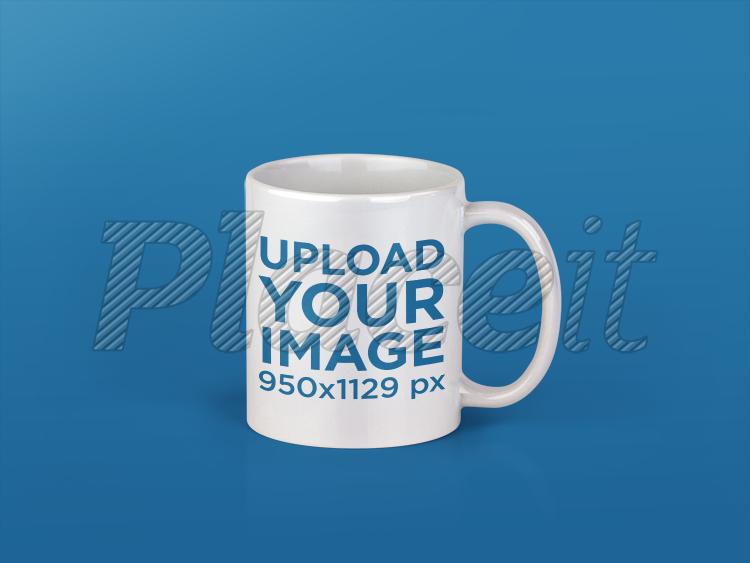 single coffee mug mockup over a transparent background a11994foreground image