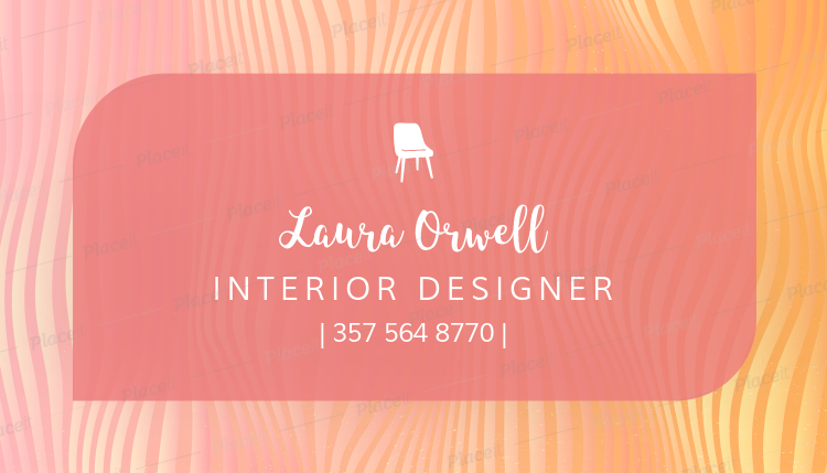 Placeit custom business card template for furniture designers custom business card template for furniture designers 243cforeground image fbccfo Gallery