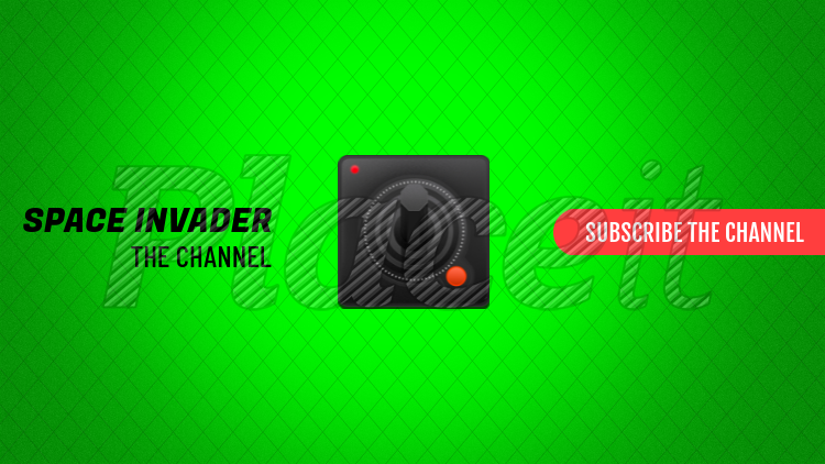 YouTube Banner Maker For Gamers With Retro Controller 407eForeground Image
