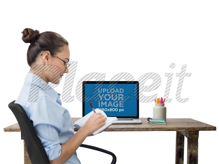 Placeit png macbook mockup of an office woman writing in her notebook png macbook mockup of an office woman writing in her notebook a11688foreground image publicscrutiny Gallery