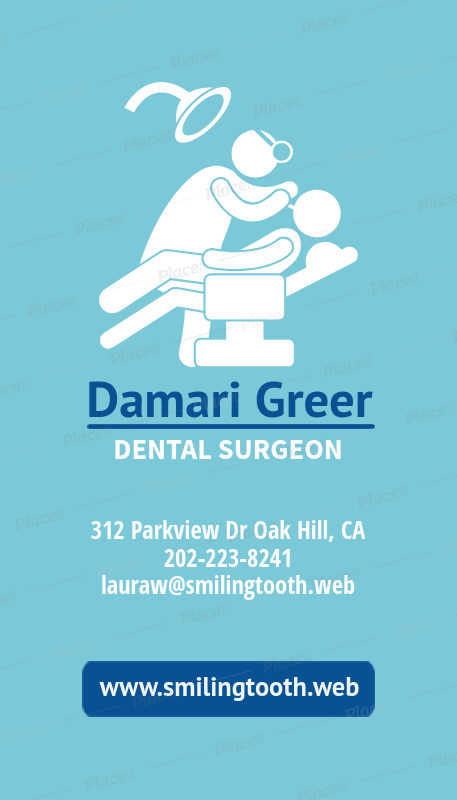 Placeit business card template for dental surgeons business card template for dental surgeons 490eforeground image colourmoves