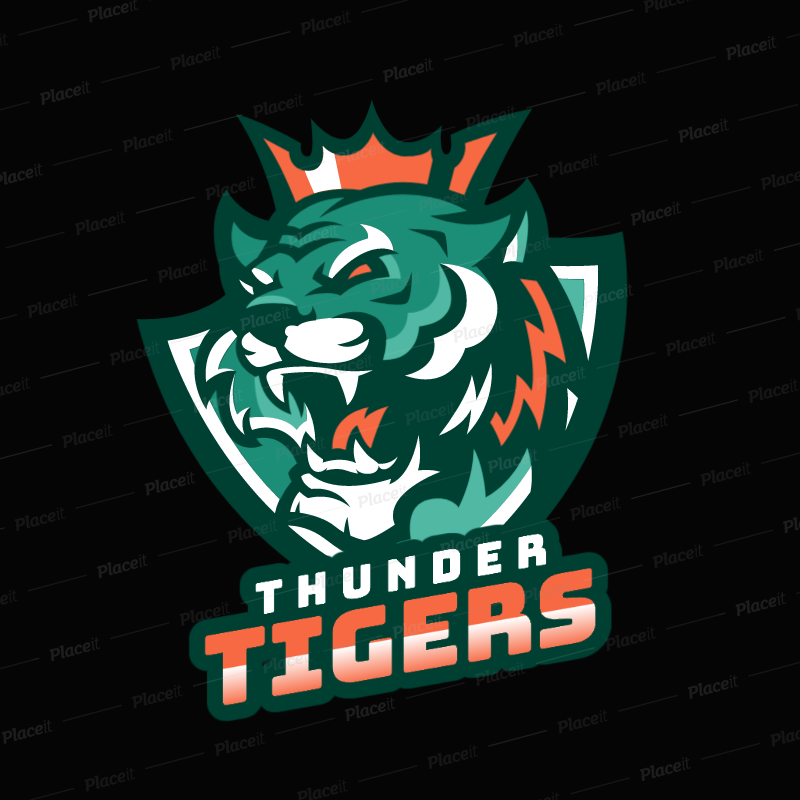 placeit logo maker featuring a king tiger graphic logo maker featuring a king tiger graphic 1747r 2332