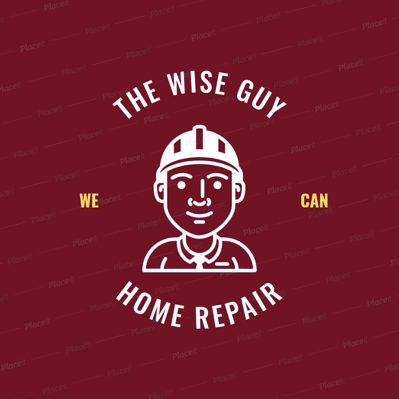 placeit handyman business logo generator