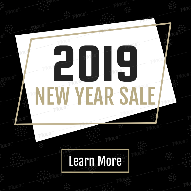 new year sale banner maker with cool design 548fforeground image